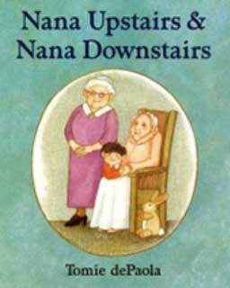 Nana Upstairs and Nana Downstairs book cover