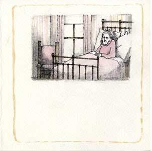 Nana Upstairs—original art Tomi dePaola, Kerlan Collection, University of Minnesota Libraries.