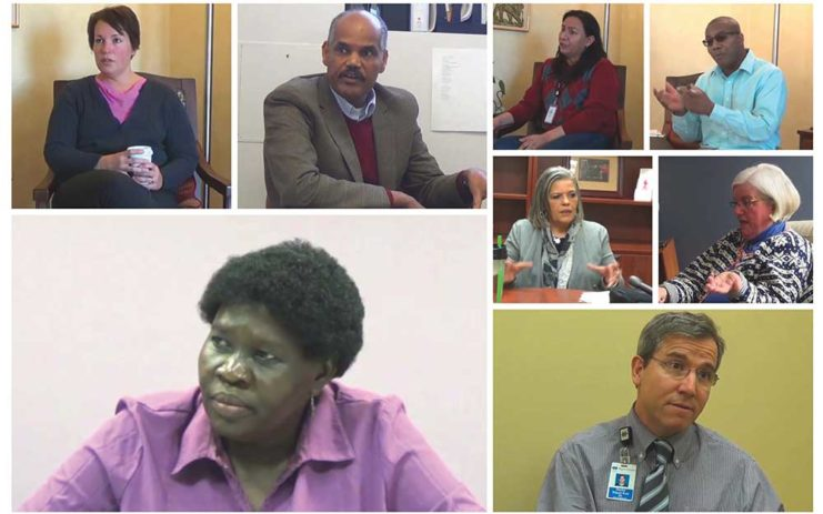 Some of the frontline responders who are part of the HIV/AIDS Caregivers Oral History Project.