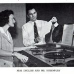 Marion English (Watson) was a member of the WLB Radio Guild while a student in the 1940s (with Del Dusenbury).