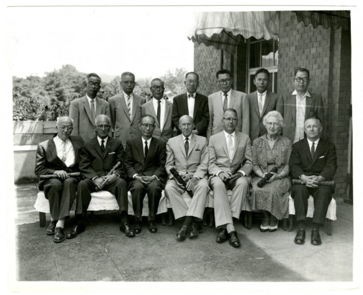 Photograph of members from Seoul National University and the University of Minnesota. Date unknown. Source: University of Minnesota Archives, Arthur E. Schneider Papers (uarc 1142).