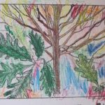 Summer white oak by Maja, age 5