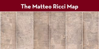 The Matteo Ricci Map