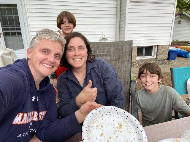 Calahan family of 4.