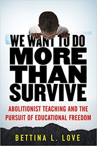 Book Cover, we want to do more than survive