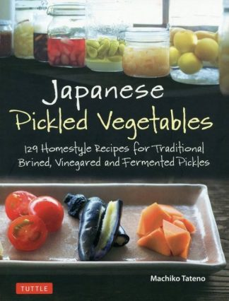 Book Cover, Pickled vegetables on a tray