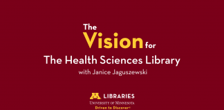 The vision for the Health Sciences Library