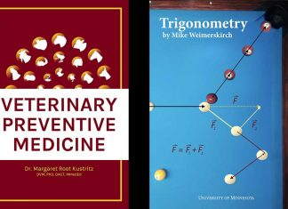 Two-books: Vet Med and Pre-Calculus
