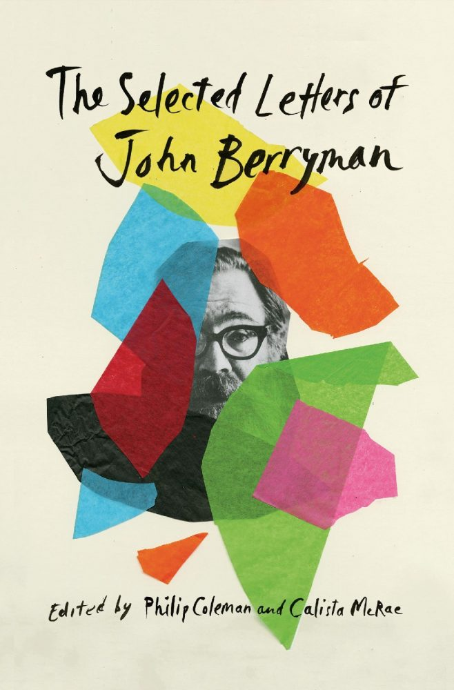 """Book cover image, """"The Selected Letter of John Berryman"""""""