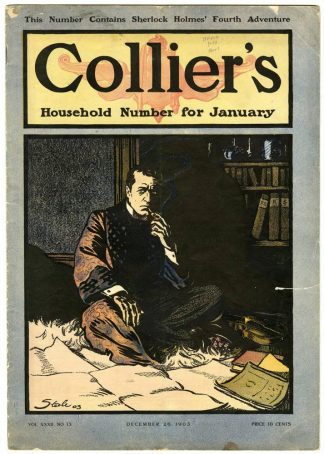 Cover of Collier's Magazine, December 26, 1903