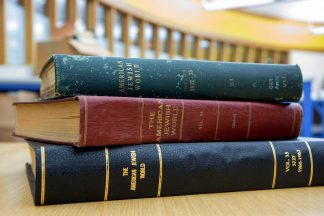Bound volumes of the American Jewish World