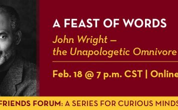 A Feast of Words with John Wright