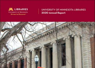 Cover of 2020 Libraries Annual Report