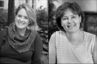 Emily Beck and Lois Hendrickson