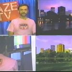 GAZE-TV — four images from the TV show.
