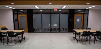 Boynton Health's Mental Health Clinic in Wilson Library