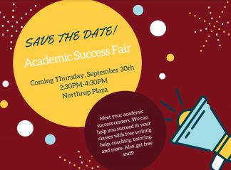 Save the Date - Academic Success Fair