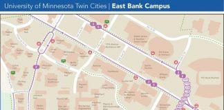 East Bank Transit Map