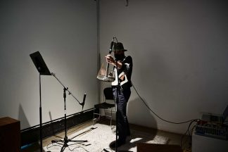 Nicholas Bauch recording with the Hydrophone