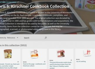 Image of the KIrschner Cookbook Collection Page